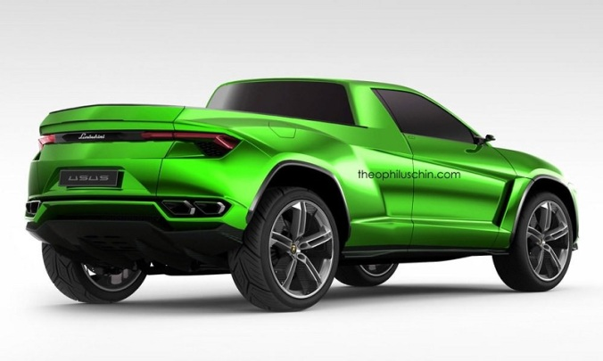 Lamborghini Urus Pick-Up. | ItaliaGT